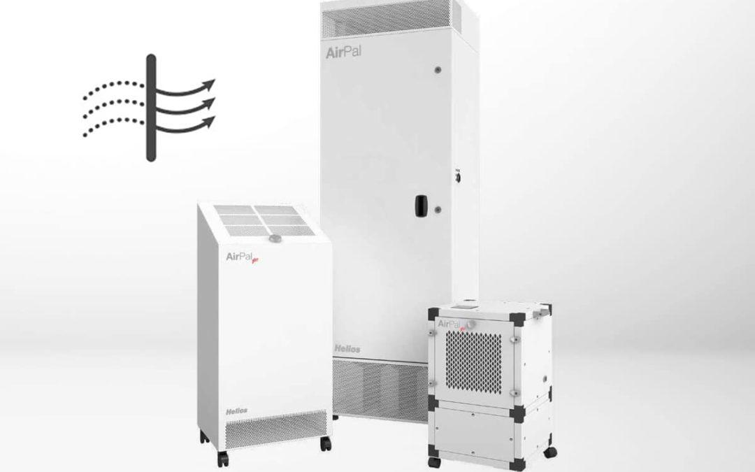 Helios Luftreiniger bei Felderer ab sofort mit CO2-Monitor gratis!
