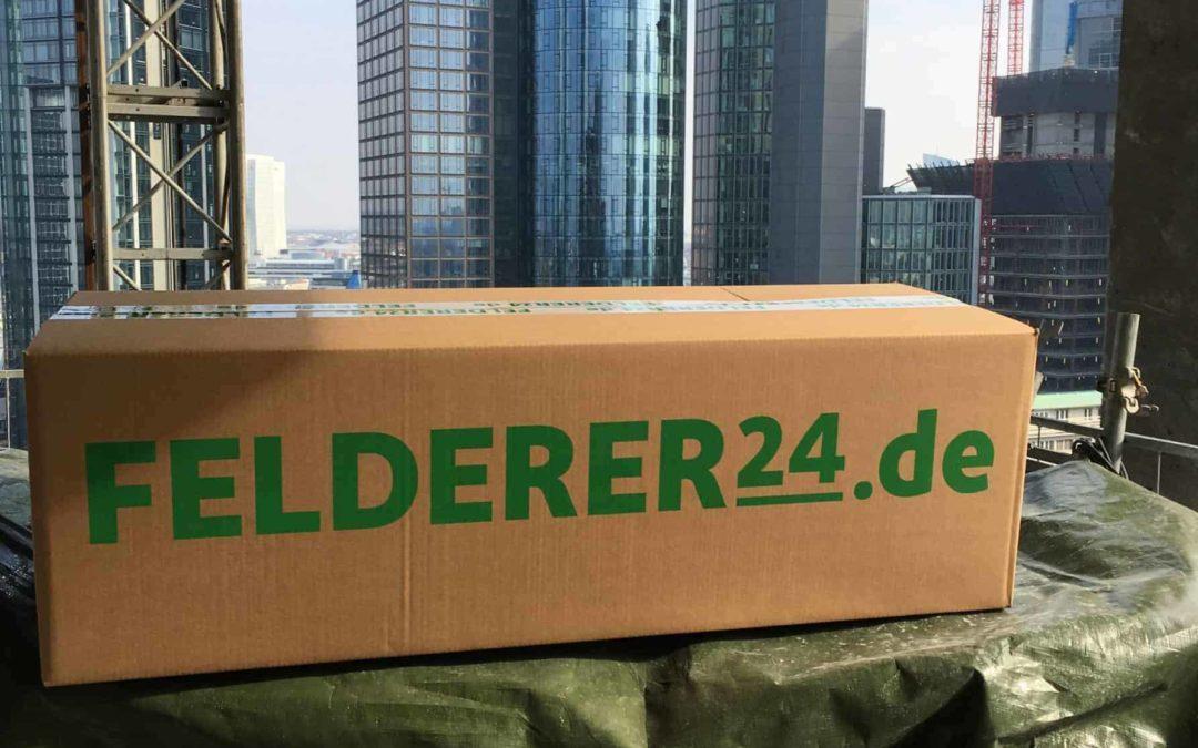 Vorgefertigte Baugruppen für den Marienturm Frankfurt