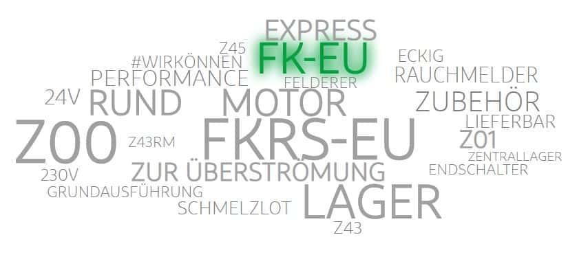 Beliebte Brandschutzklappen: Trox FK-EU und FKRS-EU auf Lager